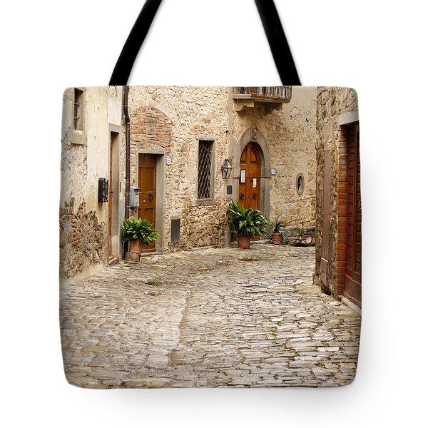 In Montefioralle Tote Bag by Rae Tucker