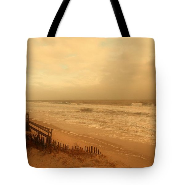 In My Dreams The Ocean Sings - Jersey Shore Tote Bag