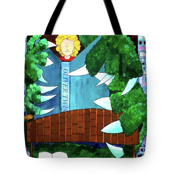 Tote Bag featuring the painting In My Room by Donna Howard