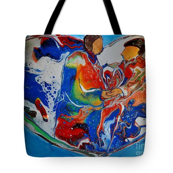 In One Accord Tote Bag