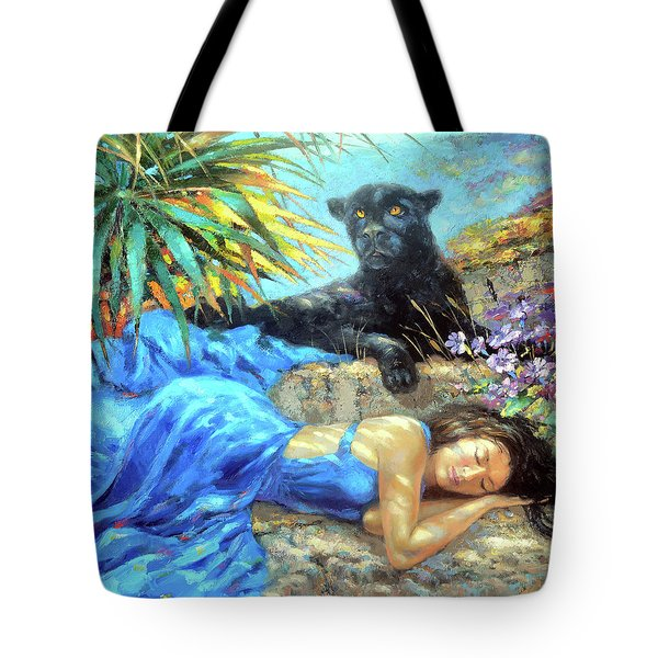 In One's Sleep Tote Bag