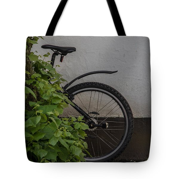 In Park Tote Bag by Odd Jeppesen