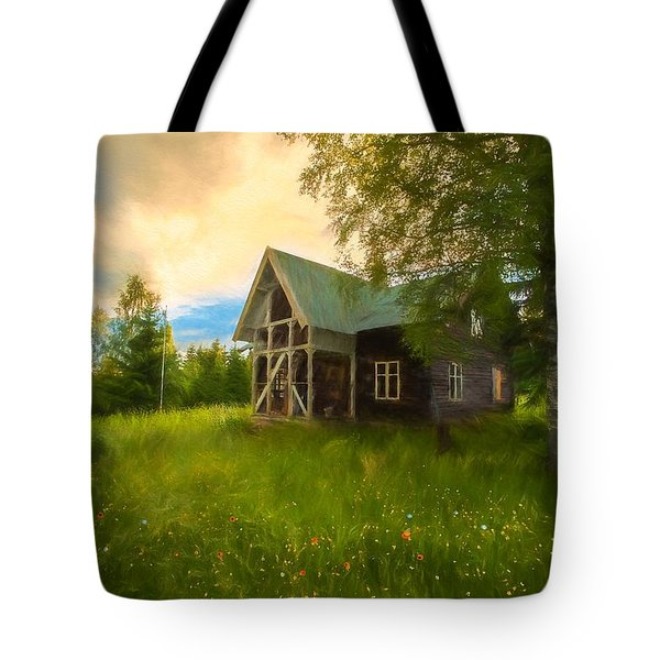 Tote Bag featuring the photograph In Peace In Your Grace by Rose-Maries Pictures