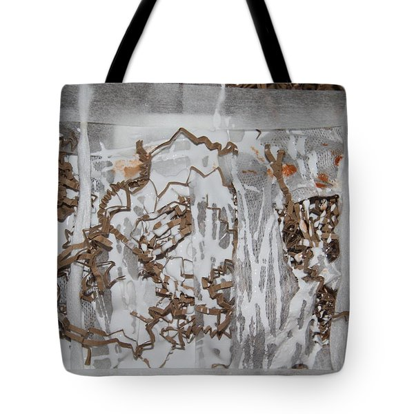 Tote Bag featuring the photograph In Progress  by Danica Radman