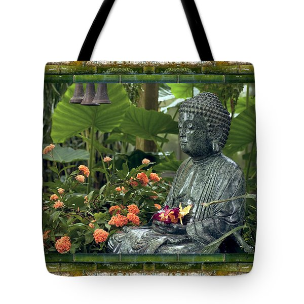 Tote Bag featuring the photograph In Repose by Bell And Todd