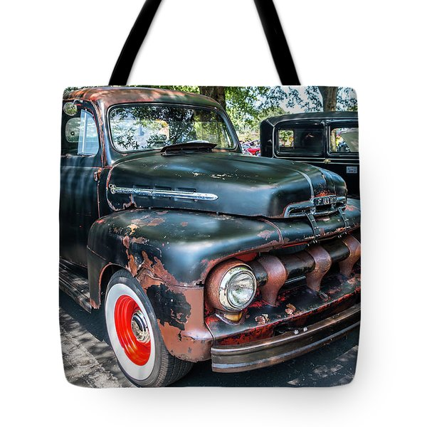 In Rust We Trust Tote Bag