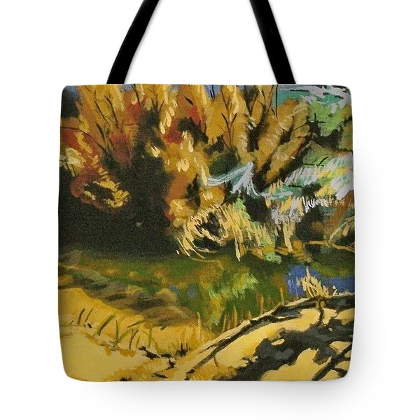 Searching For Water Tote Bag