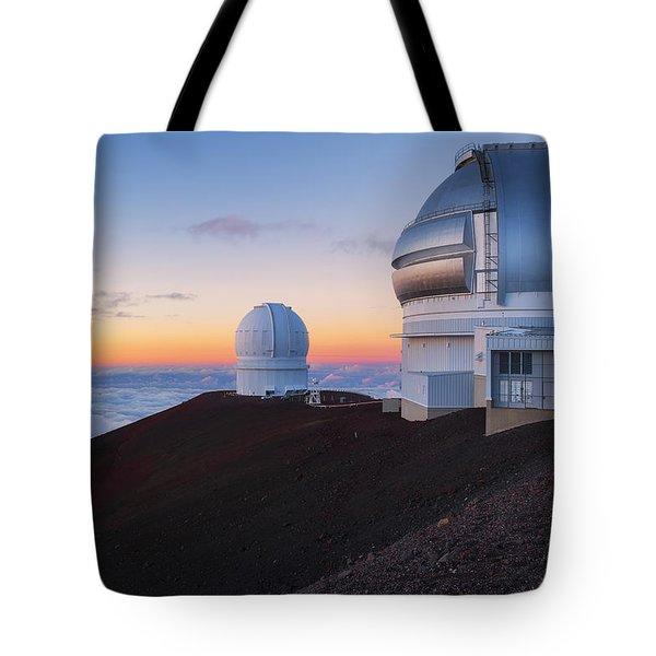 In Search Of Gemini Tote Bag by Ryan Manuel