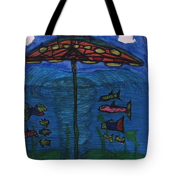 In Search Of Life Tote Bag by Darrell Black