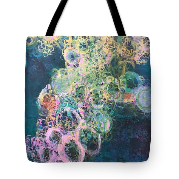 Tote Bag featuring the painting In Search Of Tom Petty by Laurie Maves ART