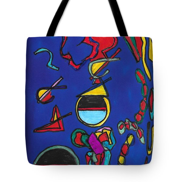 In Search Of Trilateration Tote Bag