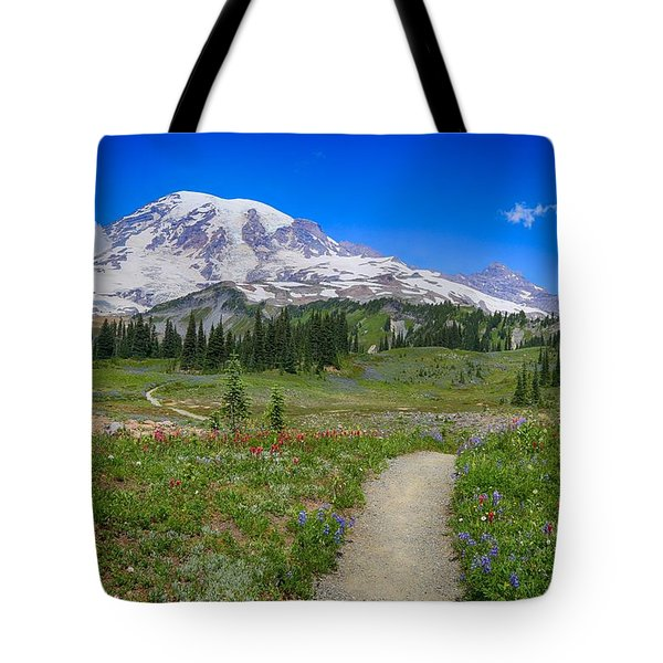 In Search Of Wildflowers Tote Bag