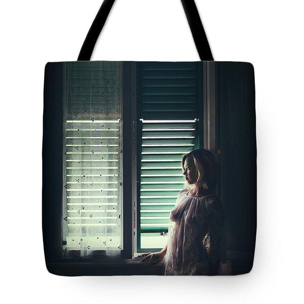 In Secret Love We Drown Tote Bag