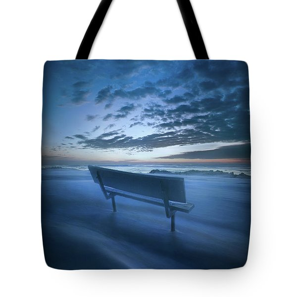 In Silence And Solitude Tote Bag