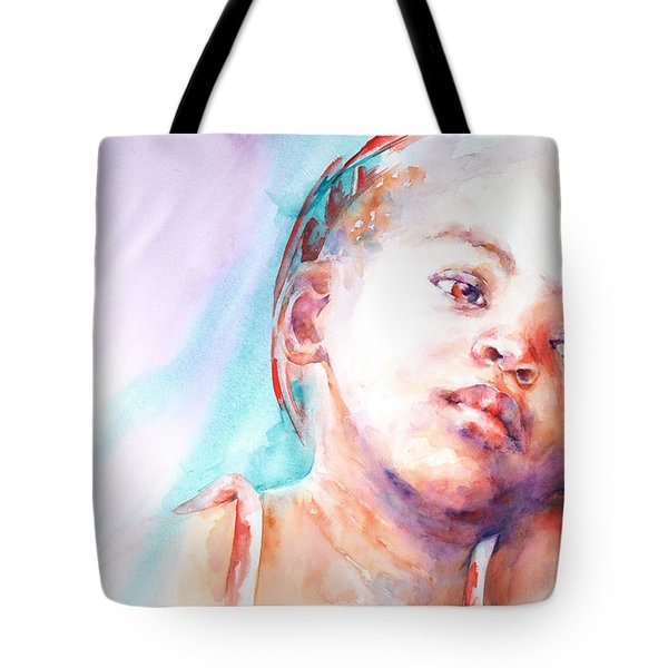 In Silence Tote Bag by Stephie Butler