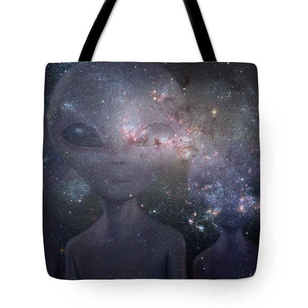 In Space Tote Bag by Thomas M Pikolin