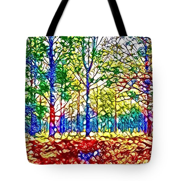 In Spite Off The Trees Tote Bag