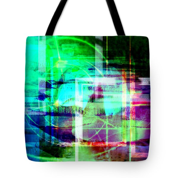 Tote Bag featuring the digital art In Spring.. by Art Di
