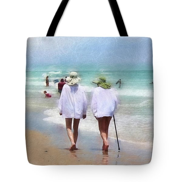 In Step With Life Tote Bag