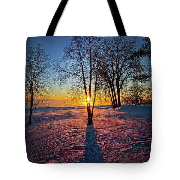 Tote Bag featuring the photograph In That Still Place by Phil Koch