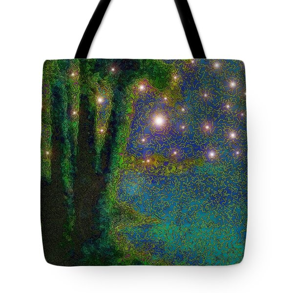 In The Beginning God... Tote Bag