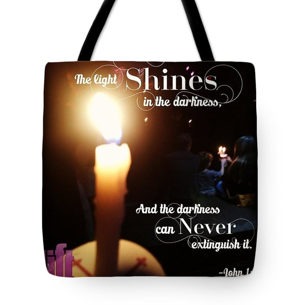 In The Beginning The Word Already Tote Bag