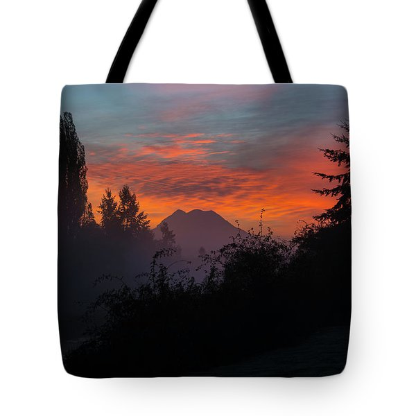 Tote Bag featuring the photograph In The Beginning by Tikvah's Hope