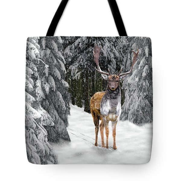In The Bleak Midwinter Tote Bag