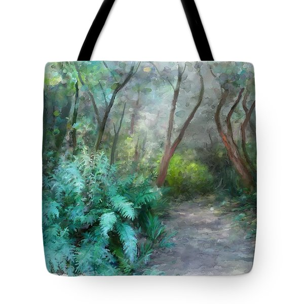 Tote Bag featuring the painting In The Bush by Ivana Westin