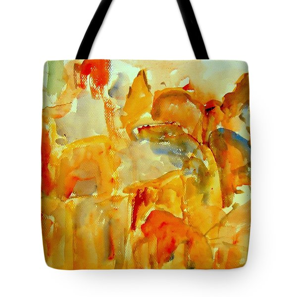 In The Churchyard Tote Bag