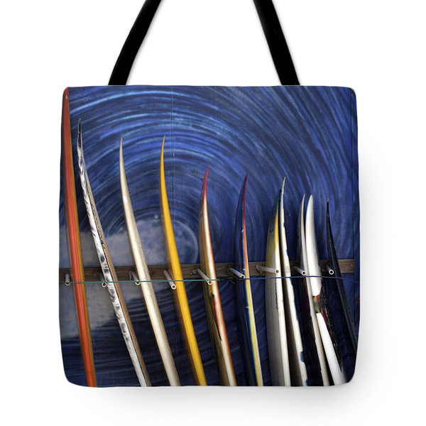 In The Curl Tote Bag