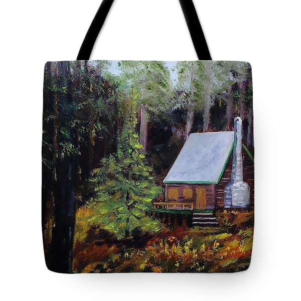 In The Deep Woods Tote Bag