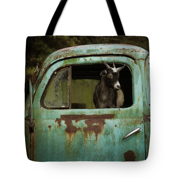 In The Drivers Seat Tote Bag