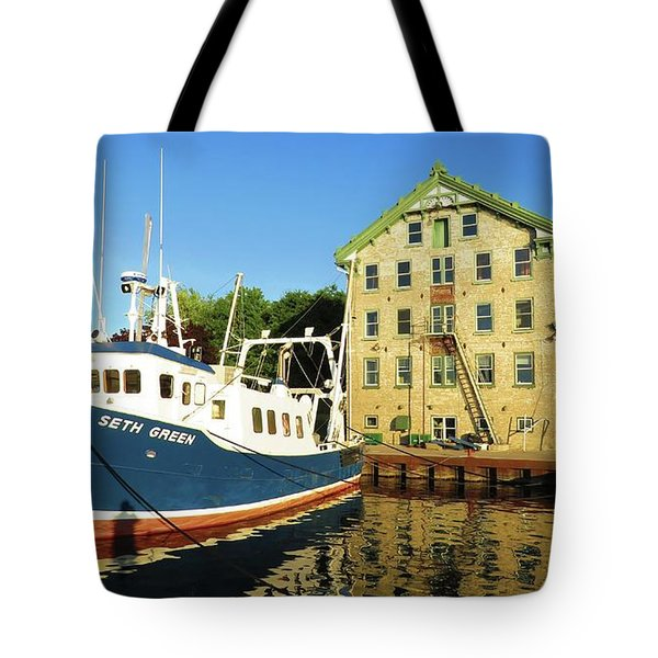 In The Evening Sun Tote Bag
