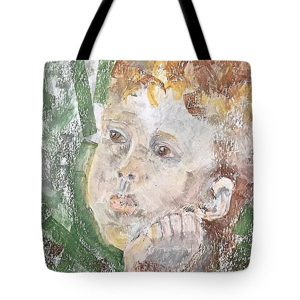 In The Eyes Of A Child Tote Bag