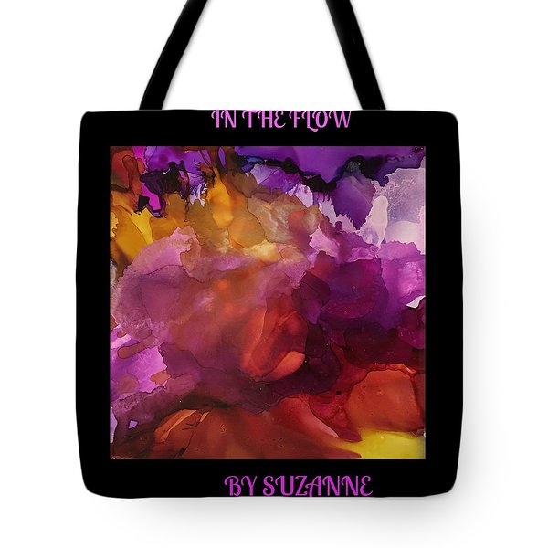 In The Flow Tote Bag by Suzanne Canner