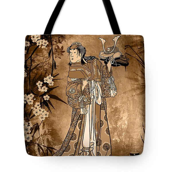 In The Garden. Tote Bag