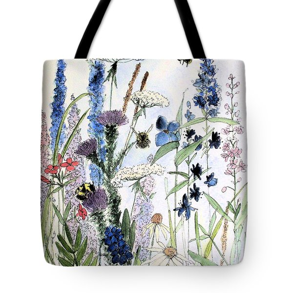 In The Garden Tote Bag by Laurie Rohner