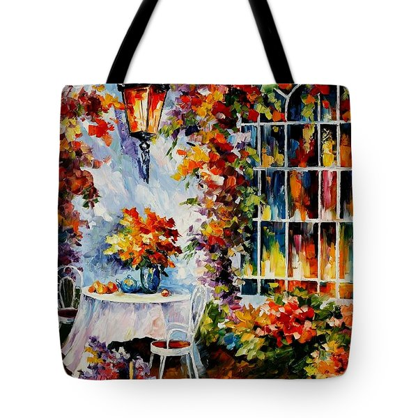 In The Garden Tote Bag by Leonid Afremov