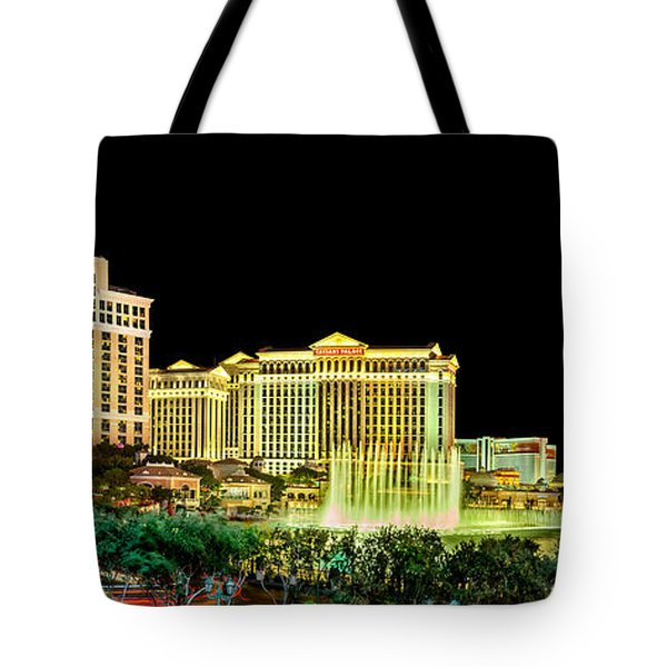 In The Heart Of Vegas Tote Bag