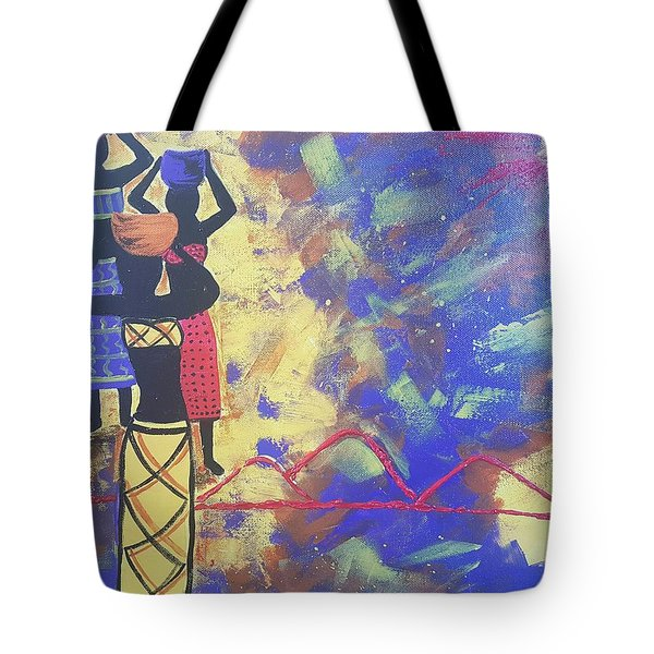 In The Heat Of The Day Tote Bag by Judi Goodwin
