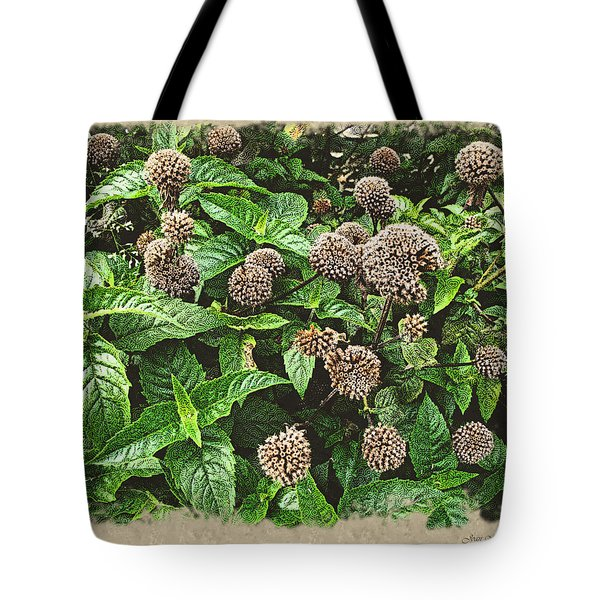 Tote Bag featuring the photograph In The Highline Garden by Joan  Minchak