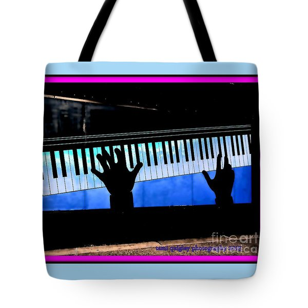 In The Key Of Cool Tote Bag