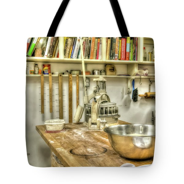 In The Kitchen Tote Bag by Irwin Seidman
