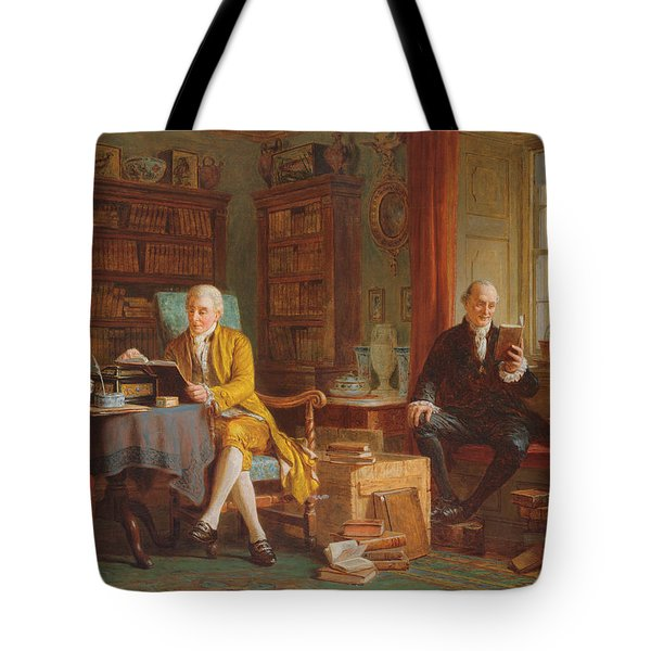 In The Library Tote Bag by John Watkins Chapman