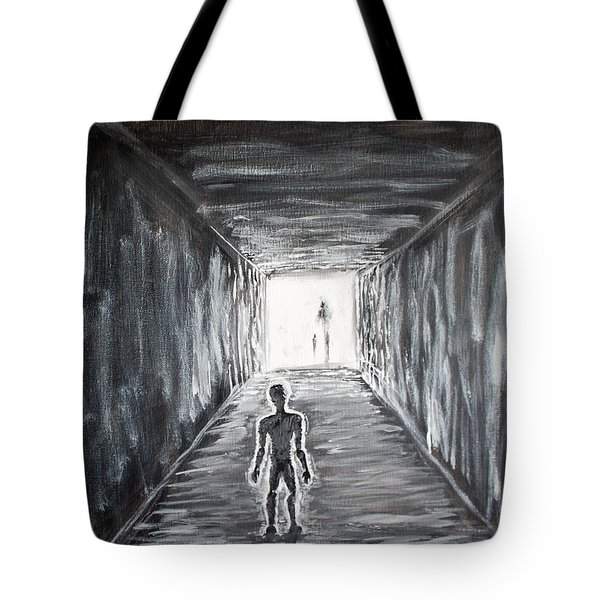 In The Light Of The Living Tote Bag