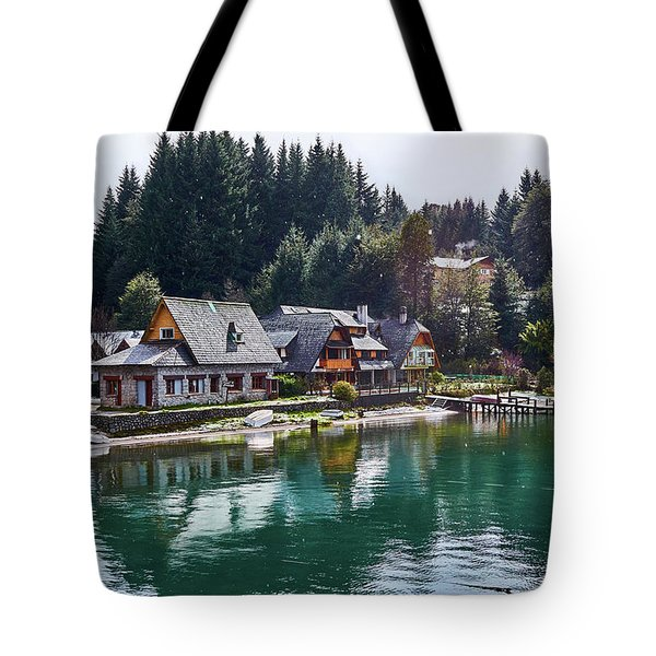 Rustic Museum In The Argentine Patagonia Tote Bag