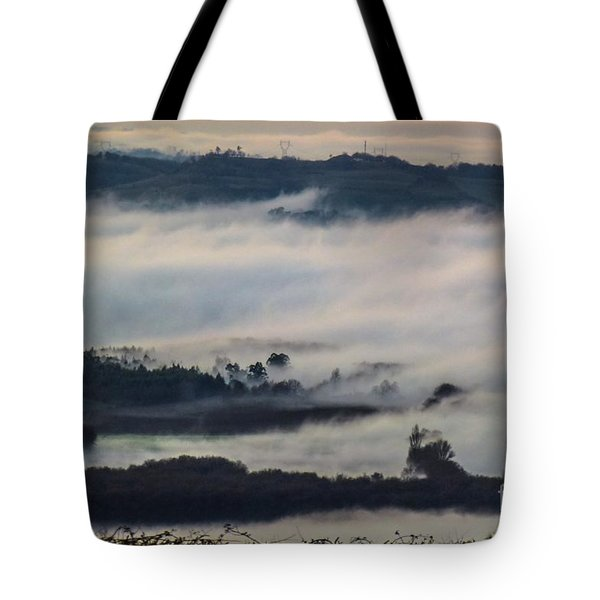 In The Mist 2 Tote Bag by Jean Bernard Roussilhe