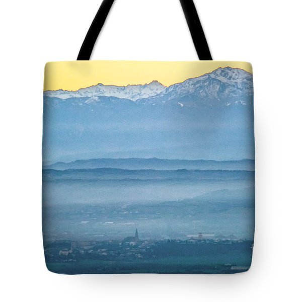 In The Mist 4 Tote Bag