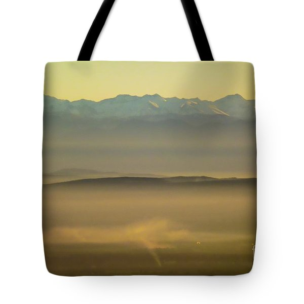 In The Mist 5 Tote Bag